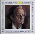 ケンプのベートーヴェン/ピアノソナタ全集 独DGG 2907 LP レコード