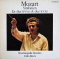 デイヴィスのモーツァルト/交響曲第39&29番 独ETERNA 2909 LP レコード