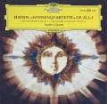 ケッケルト四重奏団のハイドン/「太陽」四重奏曲 独DGG 2909 LP レコード