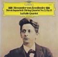 ラサール四重奏団のツェムリンスキー/弦楽四重奏曲第2番 独DGG 2909 LP レコード