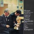 バレンボイム&クレンペラーのモーツァルト/ピアノ協奏曲第25番ほか 独EMI 2909 LP レコード