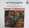 チェリビダッケの自作自演/「秘密の小箱」  独Intercord 2911 LP レコード