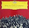 ムラヴィンスキーのチャイコフスキー/交響曲第6番「悲愴」  独DGG 2911 LP レコード