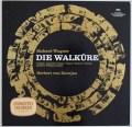 カラヤンのワーグナー/楽劇「ワルキューレ」全曲 独DGG 2911 LP レコード