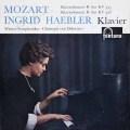 【サイン入り】ヘブラー&ドホナーニのモーツァルト/ピアノ協奏曲第27&18番 蘭fontana 2913 LP レコード