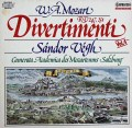 ヴェーグのモーツァルト/ディヴェルティメント第10&11番 独CAPRICCIO 2913 LP レコード