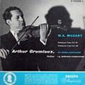 グリュミオー&パウムガルトナーのモーツァルト/ヴァイオリン協奏曲第2&5番「トルコ風」 蘭PHILIPS 2913 LP レコード