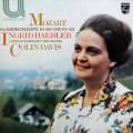 ヘブラー&デイヴィスのモーツァルト/ピアノ協奏曲第24&11番 蘭PHILIPS 2913 LP レコード