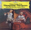 ブラウとアマデウス四重奏団のモーツァルト/フルート四重奏曲 独DGG 2913 LP レコード