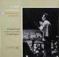 【オリジナル盤】カンテッリのチャイコフスキー/交響曲第6番「悲愴」  英EMI 2913 LP レコード
