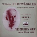 【オリジナル盤】フルトヴェングラーのベートーヴェン/交響曲第3番「英雄」  英EMI 2913 LP レコード