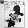フィルハーモニッシェ・チェリステン・ケルンのチェロ作品集 独EMI 2913 LP レコード
