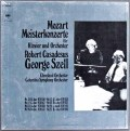 カサドシュ&セルのモーツァルト/ピアノ協奏曲集  独CBS 2913 LP レコード