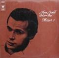 グールドのモーツァルト/ピアノソナタ第1番〜第7番&第9番 独CBS 2915 LP レコード