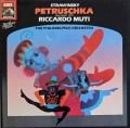 ムーティのストラヴィンスキー/「ペトルーシュカ」 独EMI 2915 LP レコード