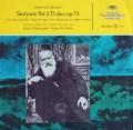ベームのブラームス/交響曲第2番 独DGG 2915 LP レコード