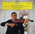 シェリングのバッハ/無伴奏ヴァイオリン・ソナタ&パルティータ第2番(「シャコンヌ」) 独DGG 2915 LP レコード
