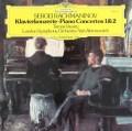 ヴァーシャリのラフマニノフ/ピアノ協奏曲第1&2番  独DGG 2915 LP レコード