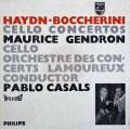 【オリジナル盤】カザルス&ジャンドロンのハイドン&ボッケリーニ/チェロ協奏曲集 蘭PHILIPS 2915 LP レコード