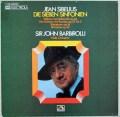バルビローリのシベリウス/交響曲全集 独EMI 2915 LP レコード