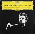 カラヤンのシューベルト/交響曲第7(9)番「ザ・グレイト」 独DGG 2917 LP レコード
