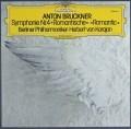 カラヤンのブルックナー/交響曲第4番「ロマンティック」 独DGG 2917 LP レコード
