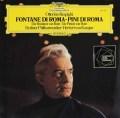 カラヤンのレスピーギ/「ローマの噴水」&「ローマの松」 独DGG 2917 LP レコード