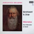 バックハウス&シューリヒトのブラームス/ピアノ協奏曲第2番 独DECCA 2917 LP レコード