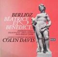 デイヴィスのベルリオーズ/「ベアトリスとベネディクト」 独DECCA 2917 LP レコード