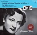 フェリアのブラームス/アルト・ラプソディほか 独DECCA 2917 LP レコード