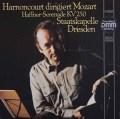 アーノンクールのモーツァルト/セレナーデ第7番「ハフナー」 独ETERNA 2917 LP レコード