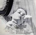 U.ホリガーのフランスハープ曲集 スイスclaves 2917 LP レコード
