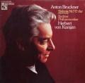 カラヤンのブルックナー/交響曲第7番 独EMI 2919 LP レコード