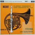 【モノラル】ドゥ・ペイエ、タックウェル&マークのモーツァルト/協奏曲集 英DECCA 2919 LP レコード