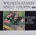 ケンプのショパン/ピアノ作品集 独DECCA 2919 LP レコード