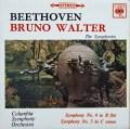 ワルターのベートーヴェン/交響曲第4&5番 英CBS 2919 LP レコード