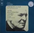 ワルターのマーラー/交響曲第5番ほか 独CBS 2919 LP レコード