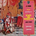 シュタルケルのバッハ/無伴奏チェロ組曲全曲 仏PHILIPS 2919 LP レコード