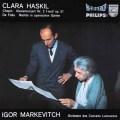 ハスキル&マルケヴィチのショパン/ピアノ協奏曲ほか  蘭PHILIPS 2919 LP レコード