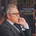 アンダのモーツァルト/ピアノ協奏曲第20&21番  独eurodisc 2919 LP レコード