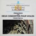 アモイヤル&ロンバールのプロコフィエフ/ヴァイオリン協奏曲  仏ERATO 2919 LP レコード