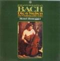 オネゲルのバッハ/無伴奏チェロ組曲 独TELEFUNKEN 2919 LP レコード