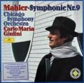 ジュリーニのマーラー/交響曲第9番 独DGG 2919 LP レコード