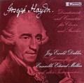 デーラー&エドゥアルト・メルクス・アンサンブルのハイドン/ピアノ・コンチェルティーノ集 スイスClaves 2921 LP レコード