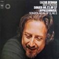 ベルマンのベートーヴェン/ピアノ・ソナタ第23番「熱情」 独CBS 2921 LP レコード