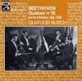 ブッシュ四重奏団のベートーヴェン/弦楽四重奏曲第15番 仏EMI 2921 LP レコード