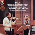 ムター&アッカルドのバッハ/2つのヴァイオリンのための協奏曲ほか 独EMI 2921 LP レコード