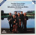 ムジカ・アンティクヮ・ケルンのパッヘルベル/カノンとジーグほか 独ARCHIV 2921 LP レコード