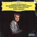 【ラストレコーディング】ギレリスのベートーヴェン/ピアノソナタ第30&31番 独DGG 2921 LP レコード