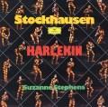 スティーヴンスのシュトックハウゼン/「道化師」 独DGG 2921 LP レコード